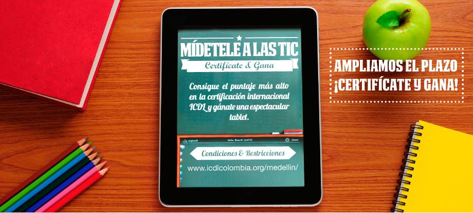 Docentes de las Instituciones Educativas de Medellín se le miden a las TIC.