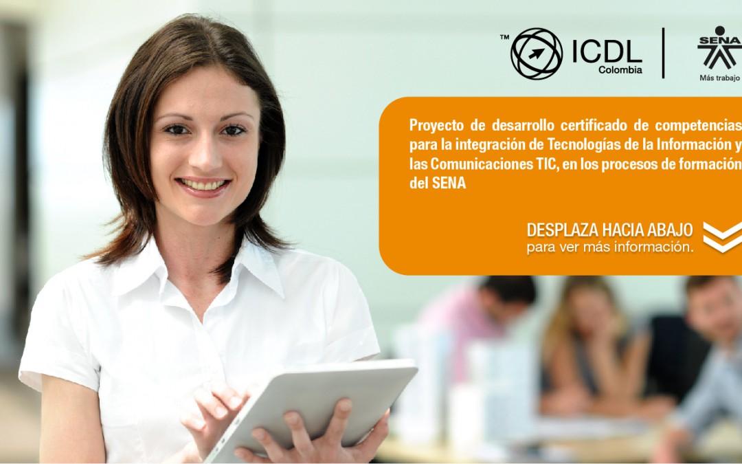 SENA certificará bajo los estándares internacionales ICDL a 1.000 instructores