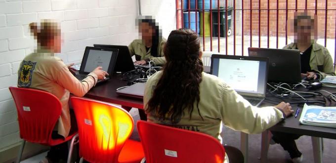 Teletrabajo, una nueva oportunidad para las mujeres de la Cárcel Distrital