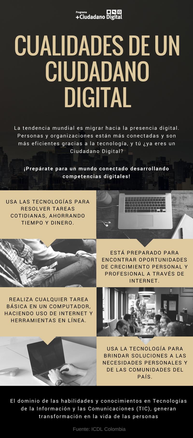 Cualidades de un Ciudadano Digital