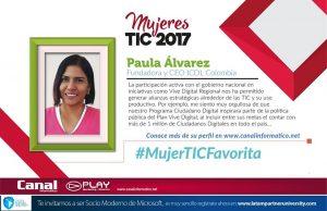 Paula Mujer TIC 2017