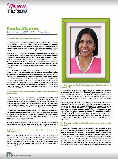 Paula Mujer TIC 2017 - Artículo