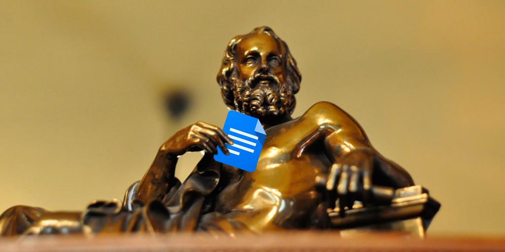 De Platón a Google Docs