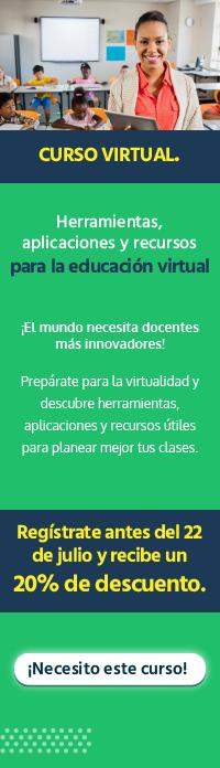 Banner TIC Gestión Educativa WIDGET ICDL