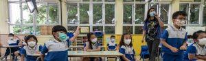Reapertura de escuelas Hong Kong